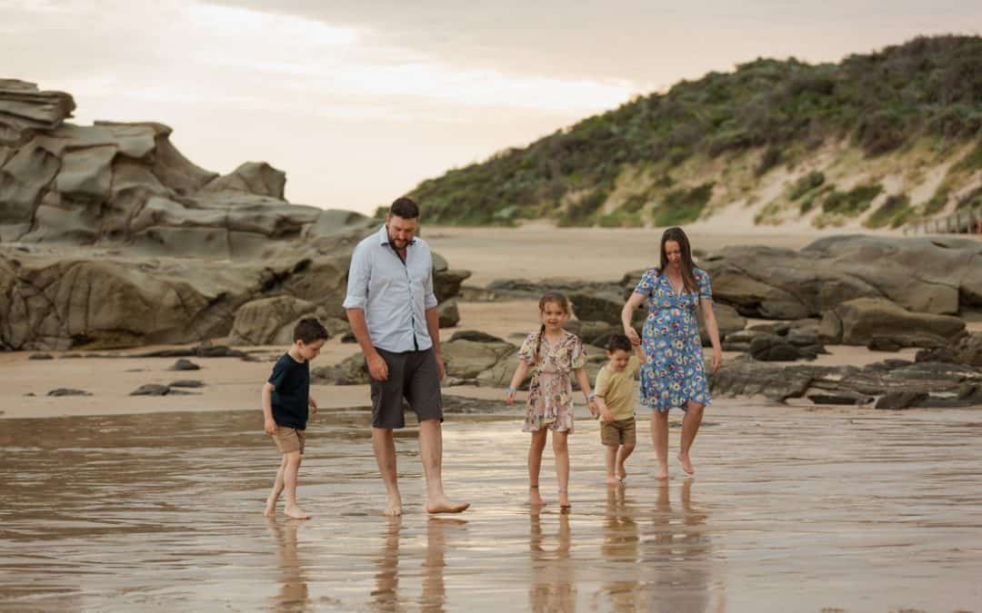 The Upston Family – Gippsland Family Photographer